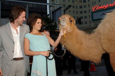 Penélope Cruz and Breck Eisner at an event for Sahara (2005)