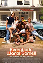 Everybody Wants Some cartel de la película