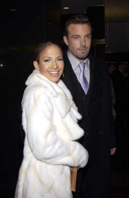 Jennifer Lopez and Ben Affleck at an event for Maid in Manhattan (2002)