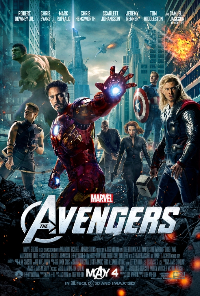 3 Boyutlu - The Avengers, Yenilmezler (3D) film izle