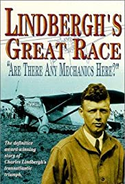 Lindbergh's Great Race: 'Are There Any Mechanics Here?' Poster