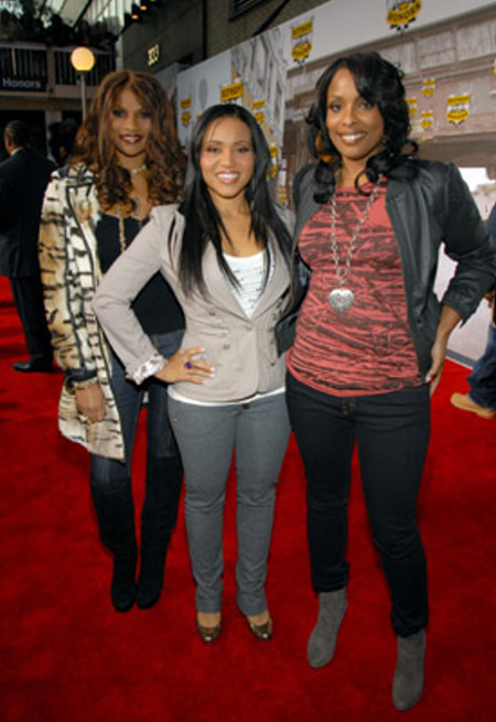 Sandra 'Pepa' Denton, Cheryl 'Salt' James, and Spinderella
