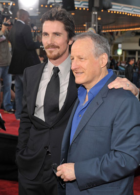Christian Bale and Michael Mann at an event for Public Enemies (2009)