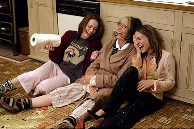 Diane Keaton, Sarah Jessica Parker, and Rachel McAdams in The Family Stone (2005)