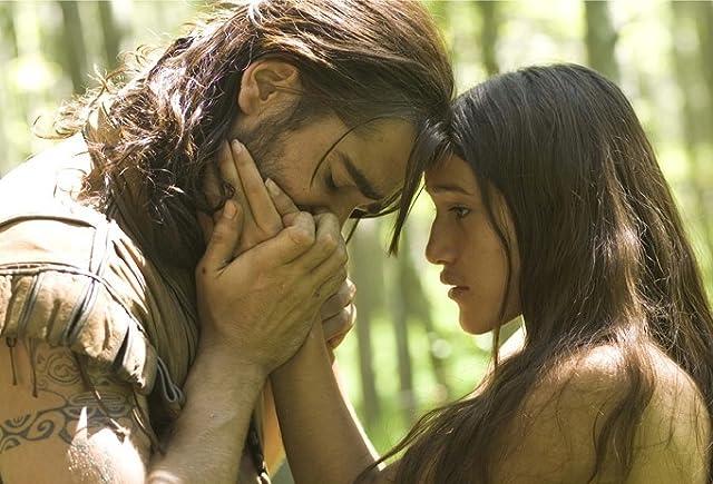 Colin Farrell and Q'orianka Kilcher in The New World (2005)