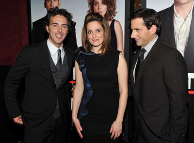 Steve Carell, Tina Fey, and Shawn Levy at an event for Date Night (2010)