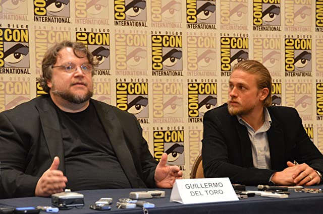 Charlie Hunnam and Guillermo del Toro at Pacific Rim (2013)