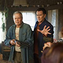 Lee Majors and Bruce Campbell in Ash vs Evil Dead (2015)