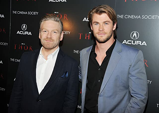 Kenneth Branagh and Chris Hemsworth at Thor (2011)