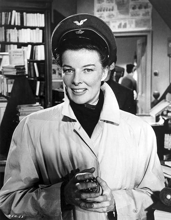 Katharine Hepburn in The Iron Petticoat (1956)