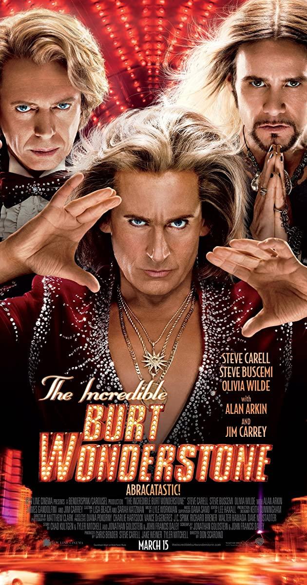 the incredible burt wonderstone imdb