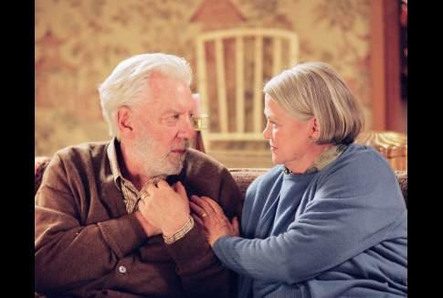 Donald Sutherland and Louise Fletcher in Aurora Borealis (2005)