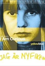 I Am Curious (Blue) Poster