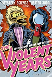 The Violent Years Poster