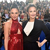 Lynda Carter and Gal Gadot at an event for Wonder Woman (2017)