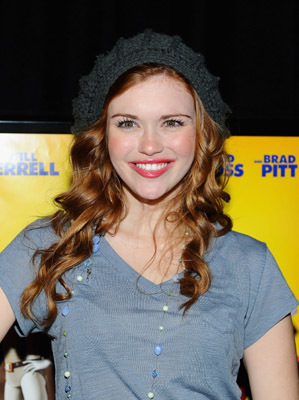 Holland Roden at an event for Megamind (2010)