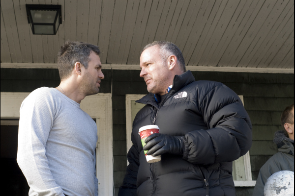 Brian Goodman and Mark Ruffalo in What Doesn't Kill You (2008)