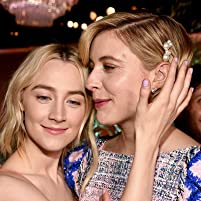 Saoirse Ronan and Greta Gerwig at the 2018 Oscars Nominees Luncheon