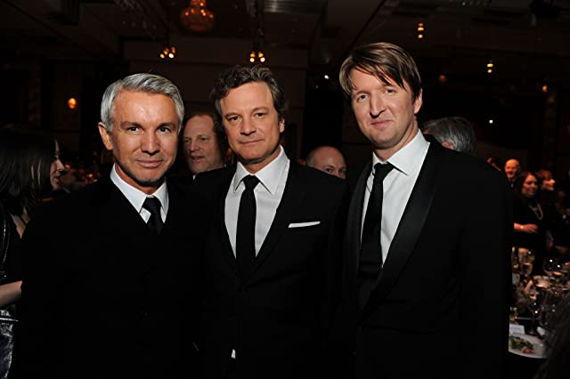 Colin Firth, Tom Hooper, and Baz Luhrmann