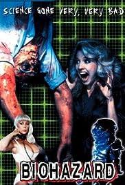 Biohazard(1985) Poster - Movie Forum, Cast, Reviews