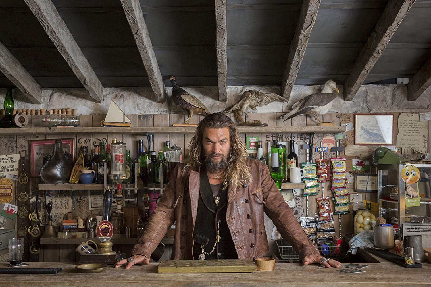 Jason Momoa in Justice League (2017)