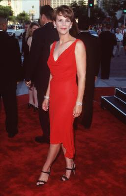 Jamie Lee Curtis at Halloween H20: 20 Years Later (1998)