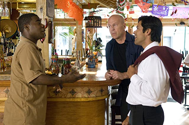 Bruce Willis, Mark Consuelos, and Tracy Morgan in Cop Out (2010)