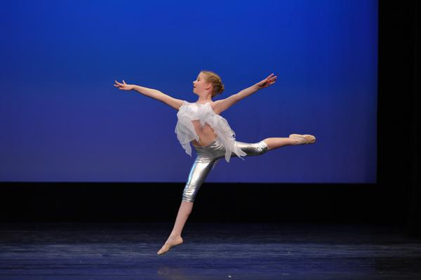 Performing at the Youth American Grand Prix Los Angeles regional semi-finals ballet competition