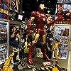 Iron Man props at Hasbro booth