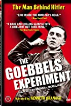 The Goebbels Experiment (2005) Poster