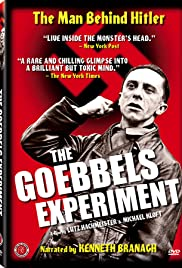 The Goebbels Experiment(2005) Poster - Movie Forum, Cast, Reviews