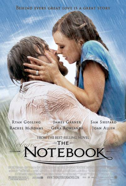 Image result for the notebook poster