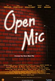 Open Mic Poster