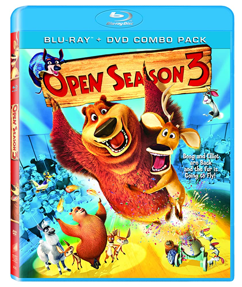 Open Season 3   Cover