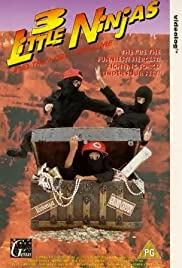 3 Little Ninjas and the Lost Treasure Poster