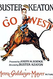 Go West (1925) Poster - Movie Forum, Cast, Reviews