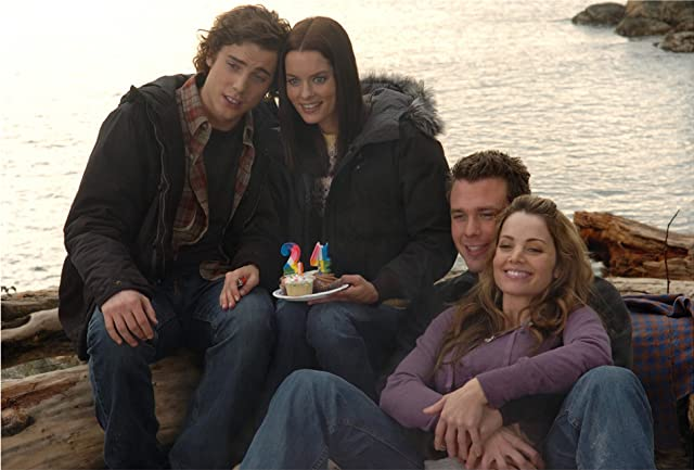 Eric Lively, Gina Holden, Erica Durance, and Dustin Milligan in The Butterfly Effect 2 (2006)