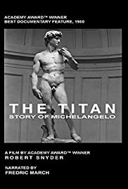 The Titan: Story of Michelangelo Poster