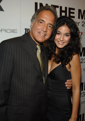 Emmanuelle Chriqui and John Dellaverson at an event for In the Mix (2005)
