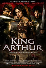 King Arthur (2004) DVD cover (Amazon)