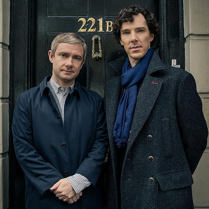 Martin Freeman and Benedict Cumberbatch in Sherlock (2010)