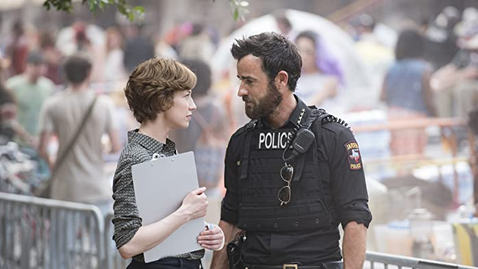 Justin Theroux and Carrie Coon in The Leftovers (2014)