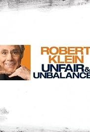 Robert Klein: Unfair and Unbalanced Poster