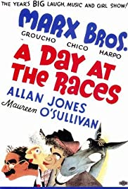 A Day at the Races Poster
