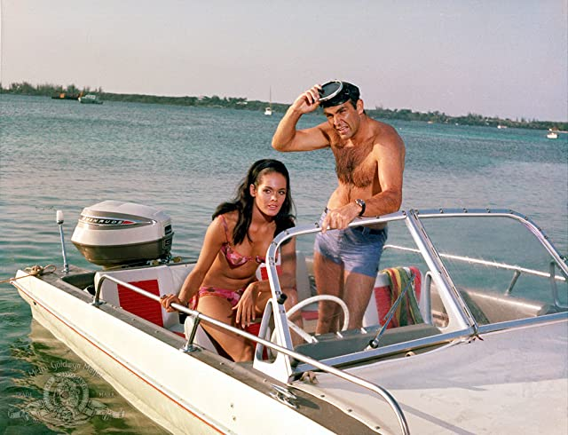 Sean Connery and Martine Beswick in Thunderball (1965)