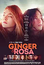 Ginger & Rosa poster do filme