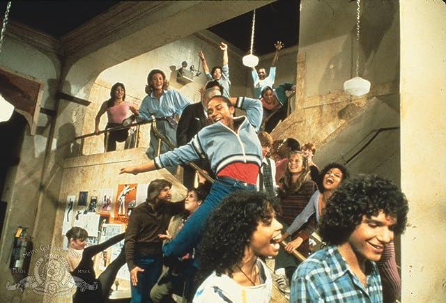 Debbie Allen, Lee Curreri, Lori Singer, Michael DeLorenzo, Erica Gimpel, Albert Hague, Carlo Imperato, Carol Mayo Jenkins, Valerie Landsburg, P.R. Paul, Gene Anthony Ray, and Bronwyn Thomas in Fame (1982)