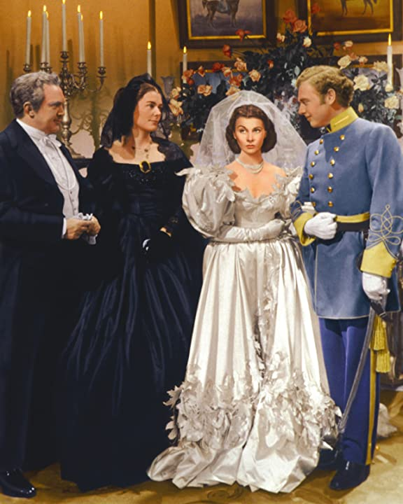 Vivien Leigh, Thomas Mitchell, and Barbara O'Neil in Gone with the Wind (1939)