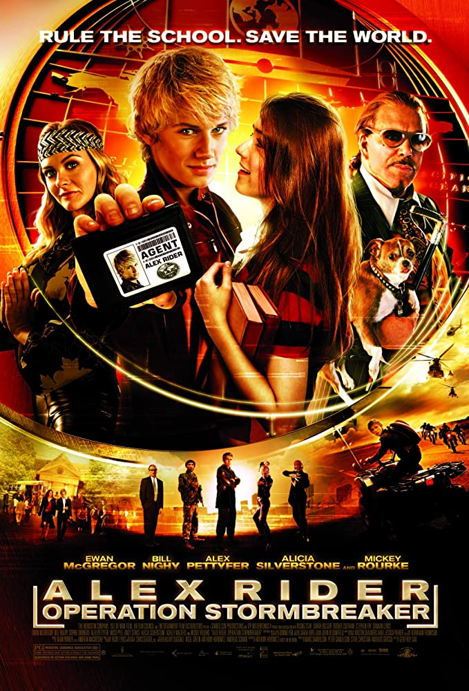 Image result for alex rider movie poster