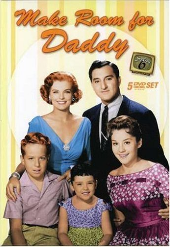 Angela Cartwright, Rusty Hamer, Sherry Jackson, Marjorie Lord, and Danny Thomas in Make Room for Daddy (1953)